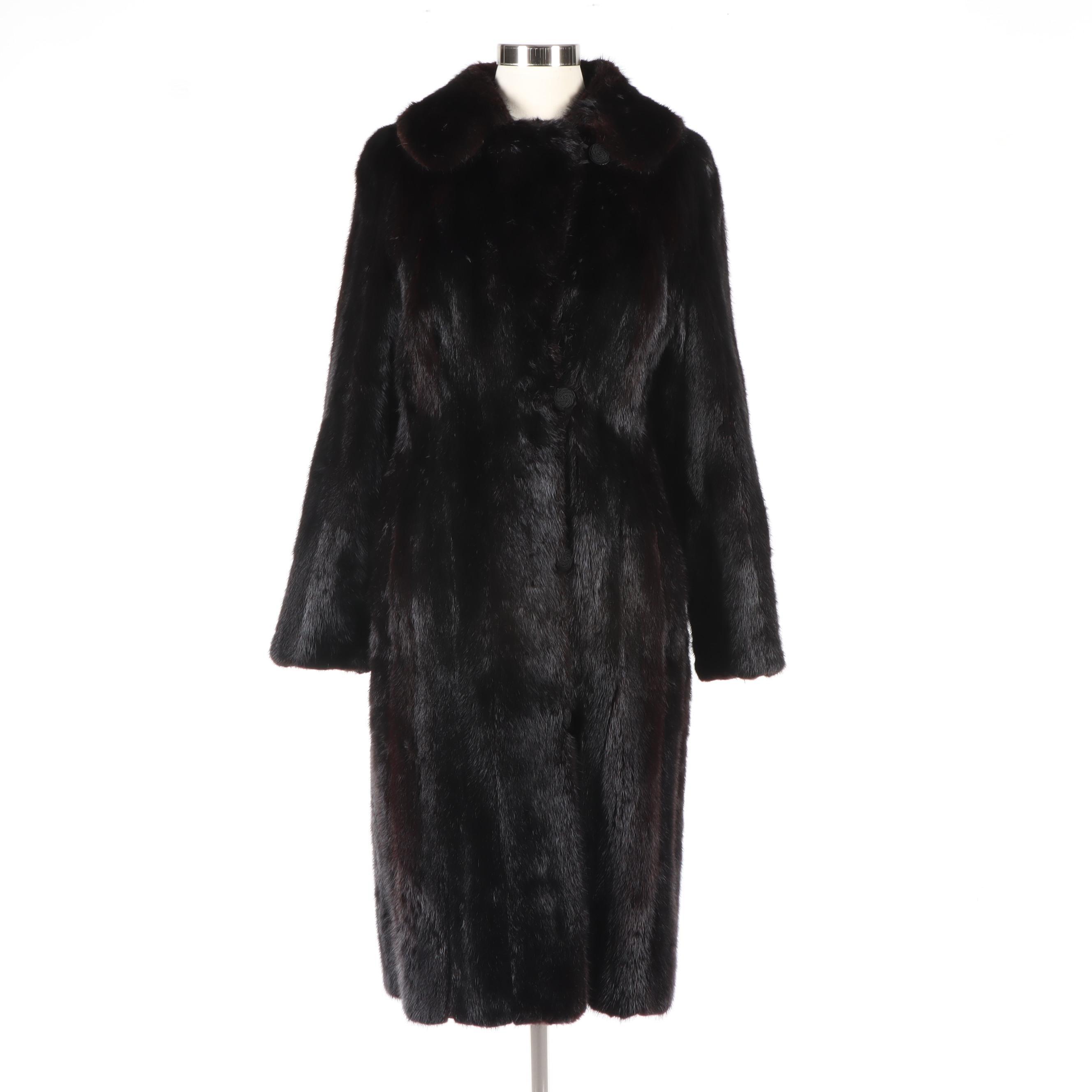 Mink Fur Coat from Turner & Magit Fine Furs of Chicago, Vintage