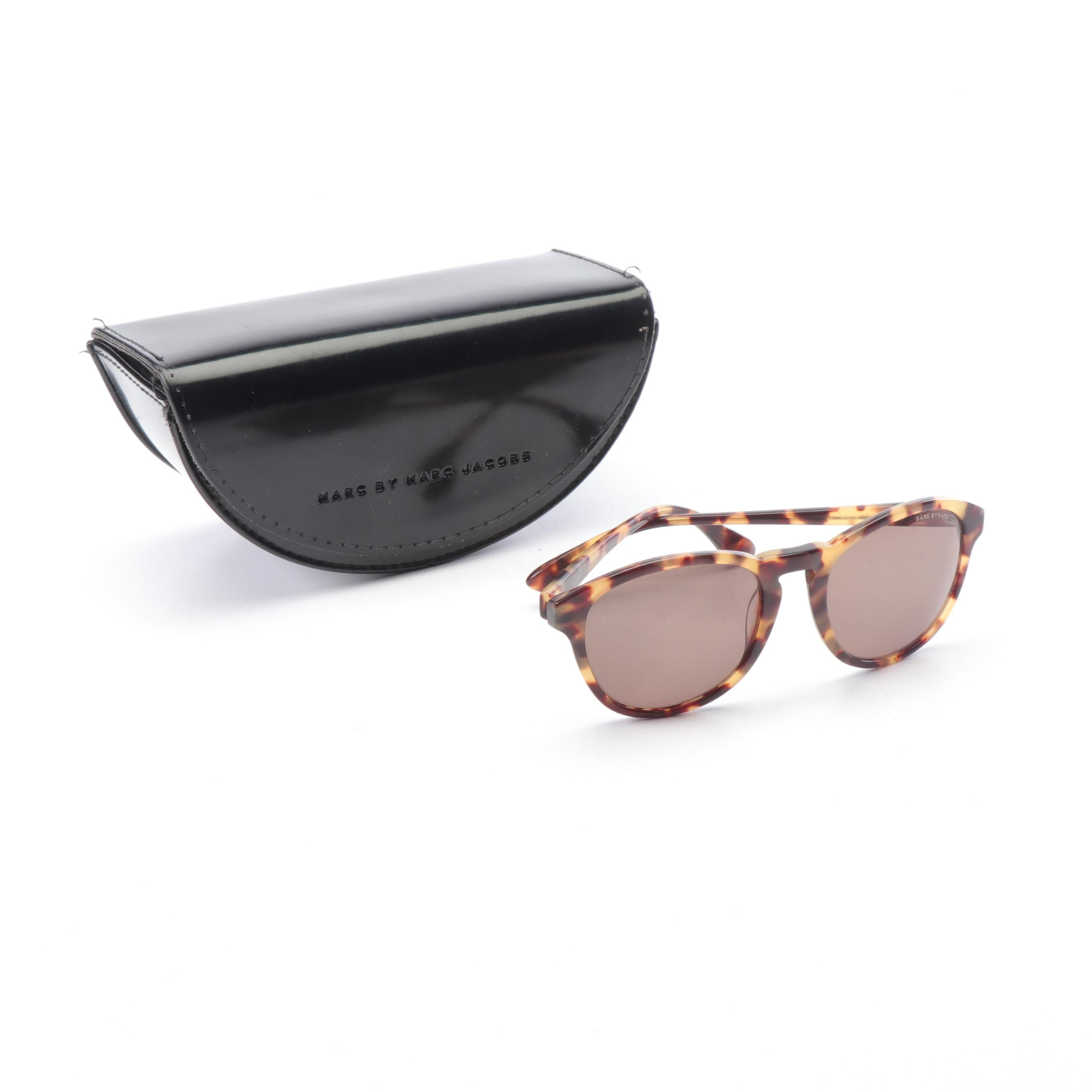 Marc by Marc Jacobs 213/S Tortoiseshell Style Sunglasses with Case