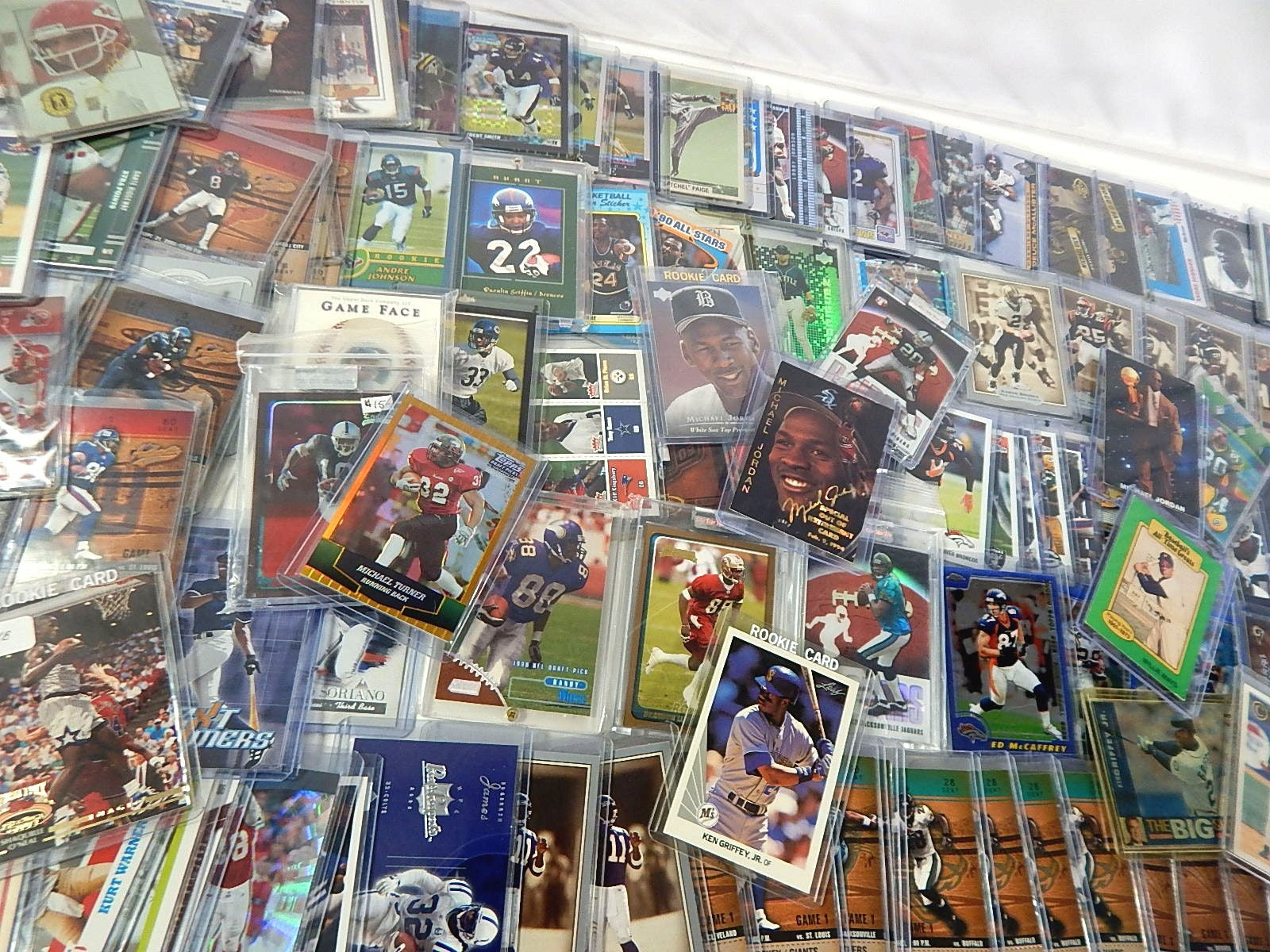 Top Loaded Rookie,Insert,Serial Numbered,Refractor Star Sports Card Lot - 120 Ct