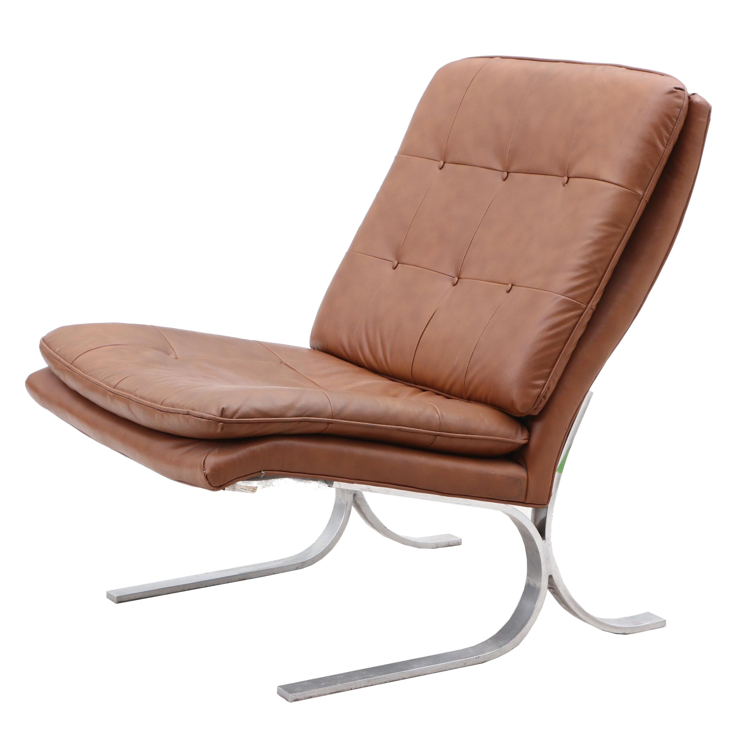 Mid Century Modern Style Sam Moore Barcelona Lounger, Contemporary