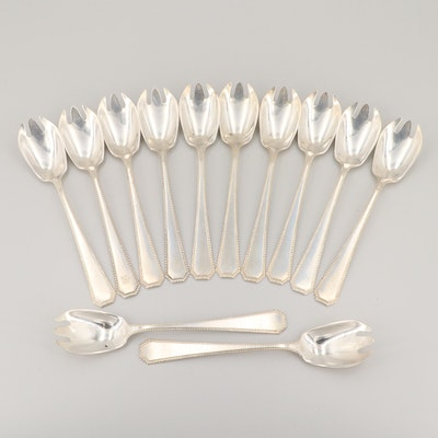 Wallace Silversmiths Sterling Silver Runcible Spoons
