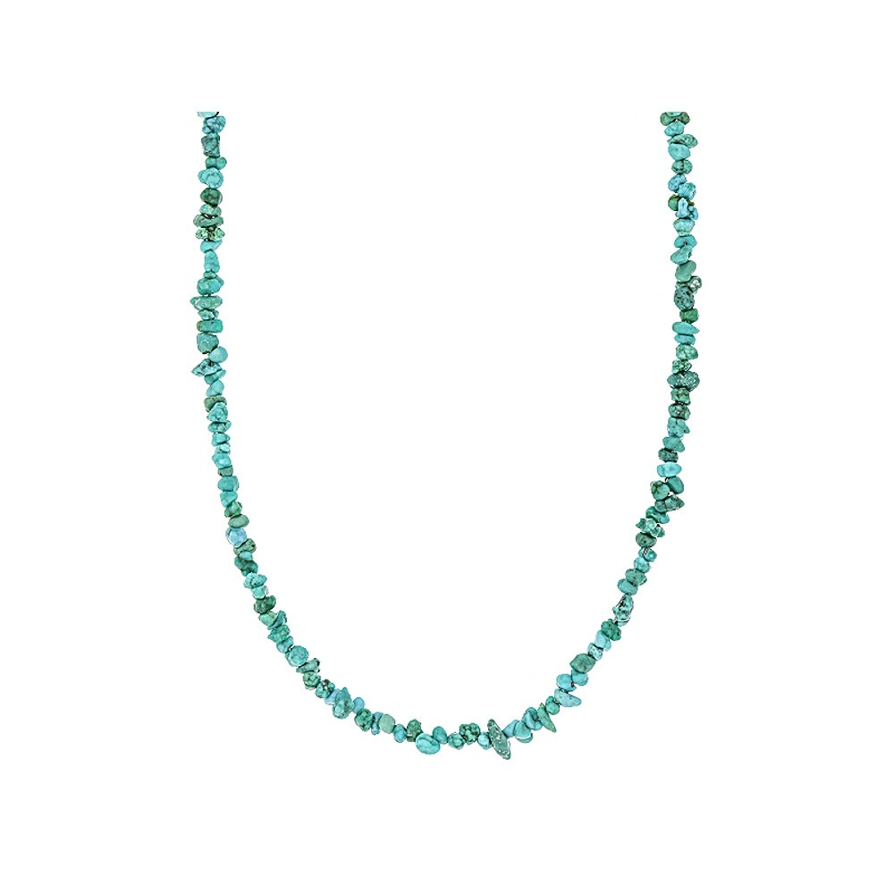 Sterling Silver Turquoise Strand Necklace