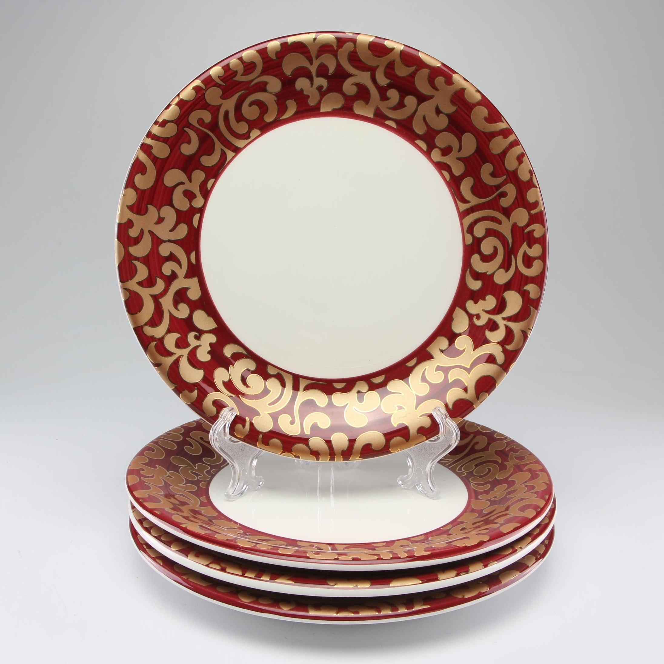 F. Giorgi by Ceramica Holiday Charger Plates