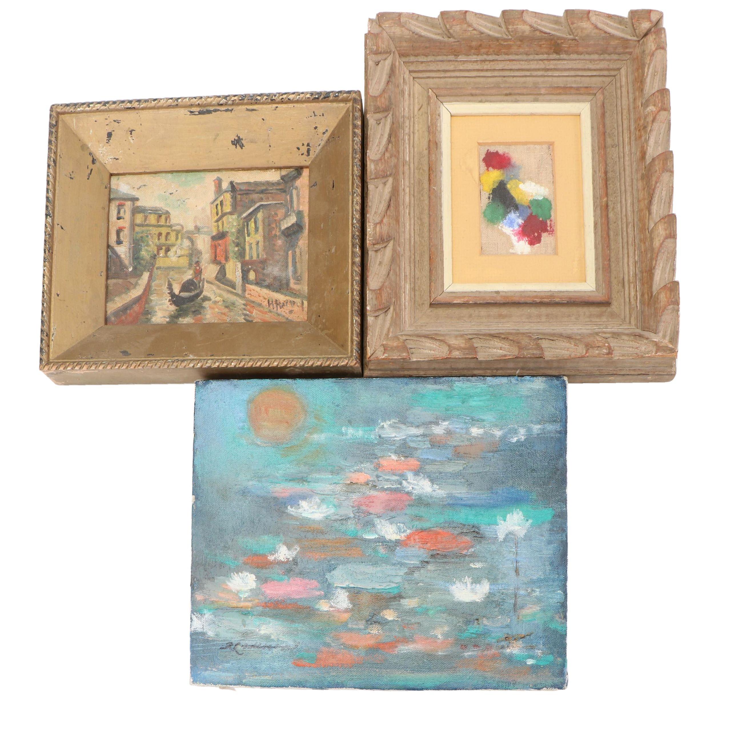 Mid 20th Century Oil Paintings
