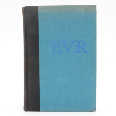 "1968 Captain Eddie Rickenbacker Signed ""EVR"" Hardcover Book"
