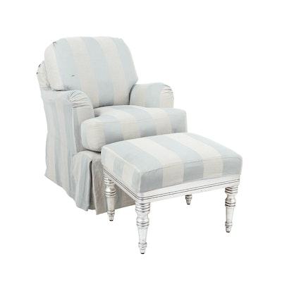 Mini Milan Rocker / Swivel Armchair by Quatrine Custom Furniture, Circa 2015