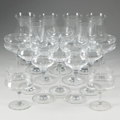 Contemporary Crystal Stemware