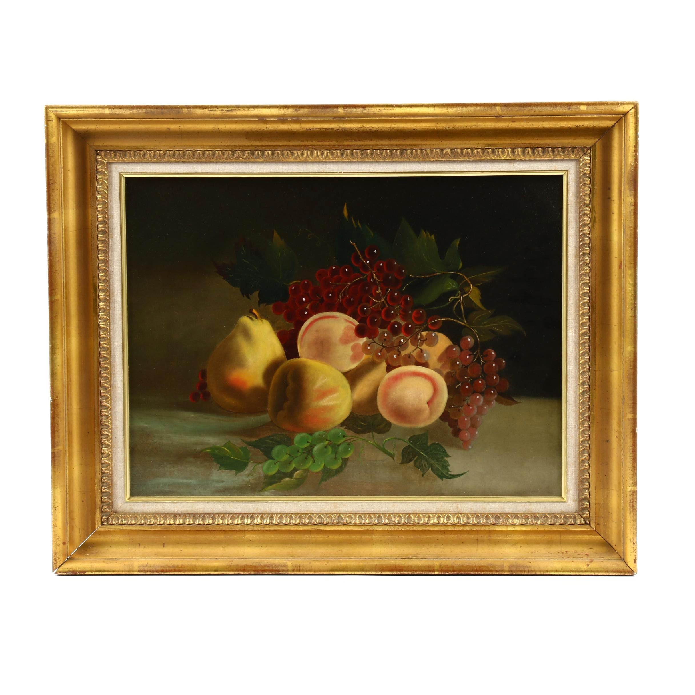 Fruit Still Life Oil Painting