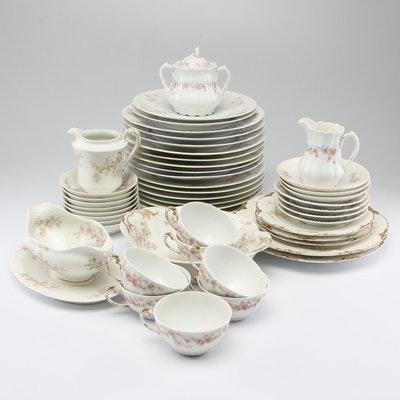 Vintage Limoges Porcelain Dinnerware Featuring Haviland