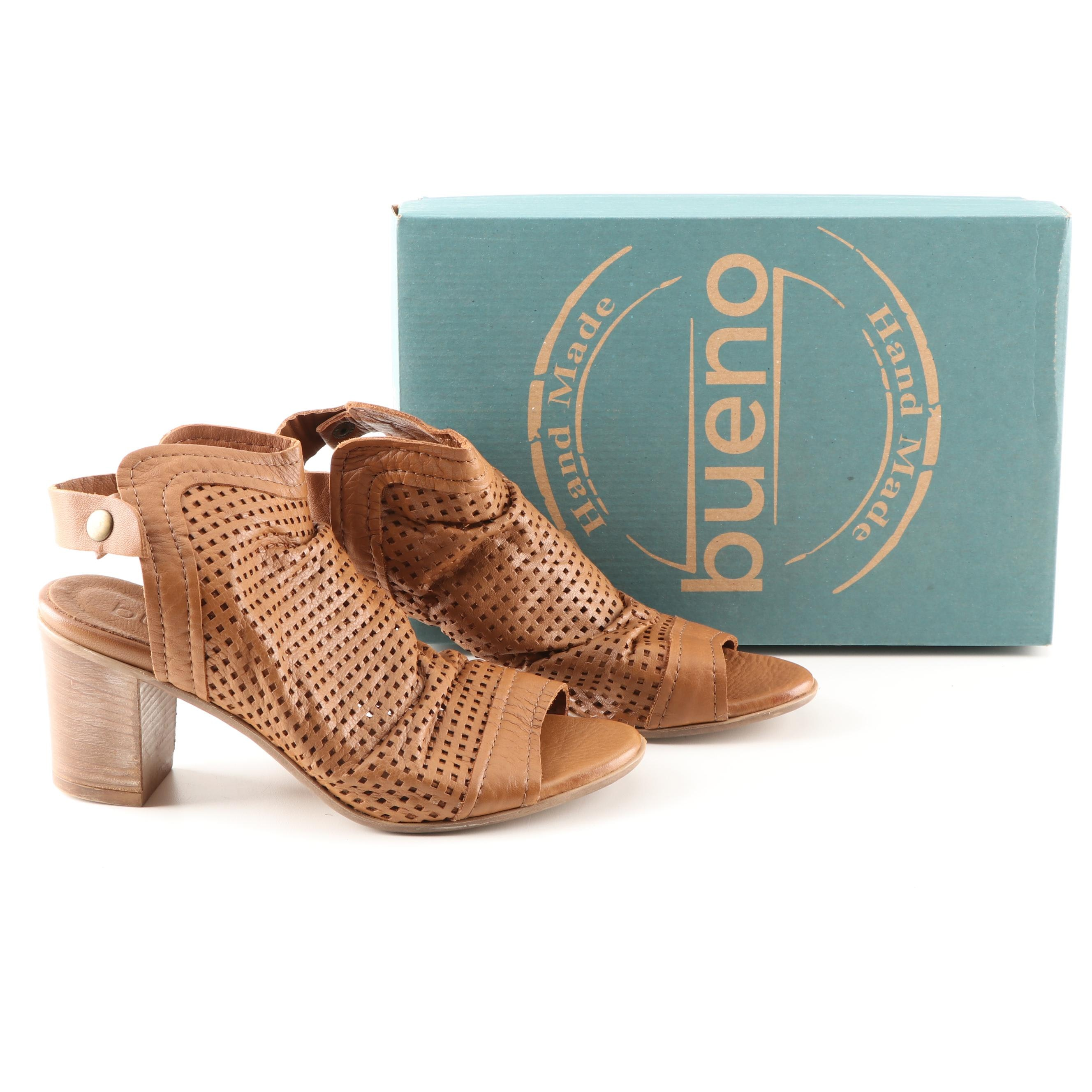 "Bueno Hand Made ""Udo"" Heeled Sandals"