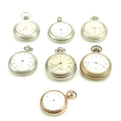 Antique Waterbury Pocket Watches