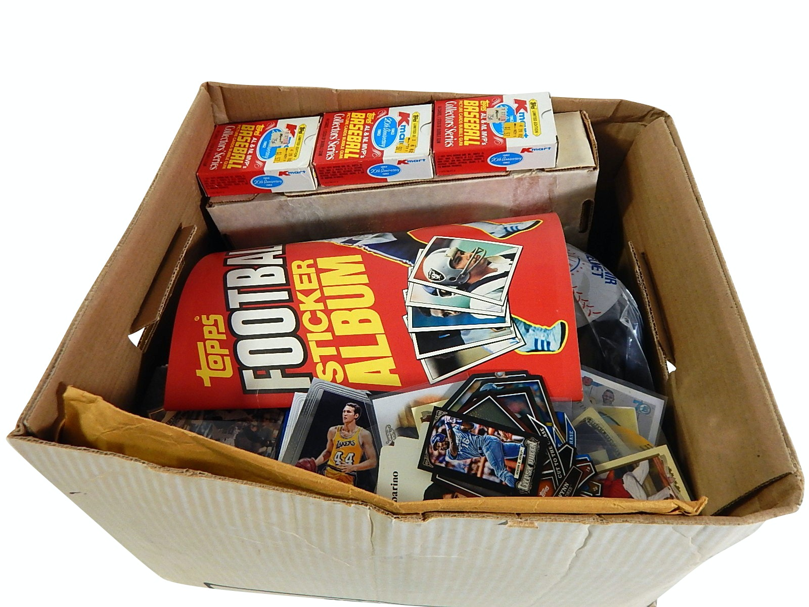 Box Lot of Baseball and Basketball Cards and Collectibles - Over 2000 Count