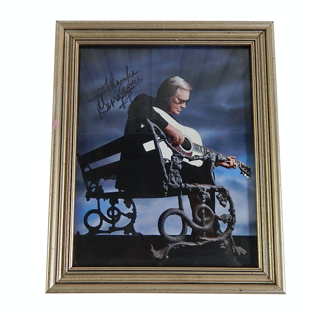George Jones Signed Print