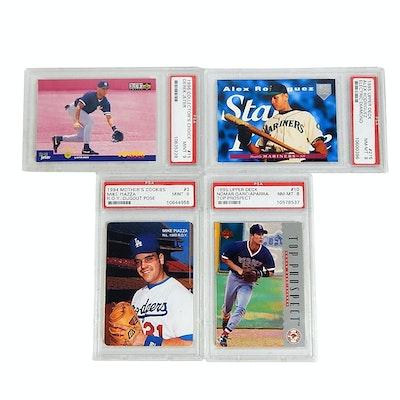 2006 Topps Psa Gem Mt 10 Derek Jeter Rookie Of The Week 18 Baseball