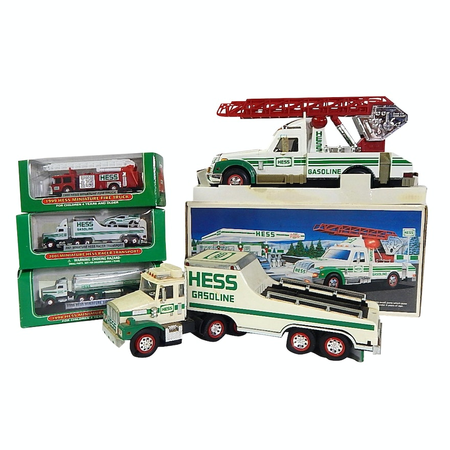 Hess Gasoline Die Cast Toy Trucks