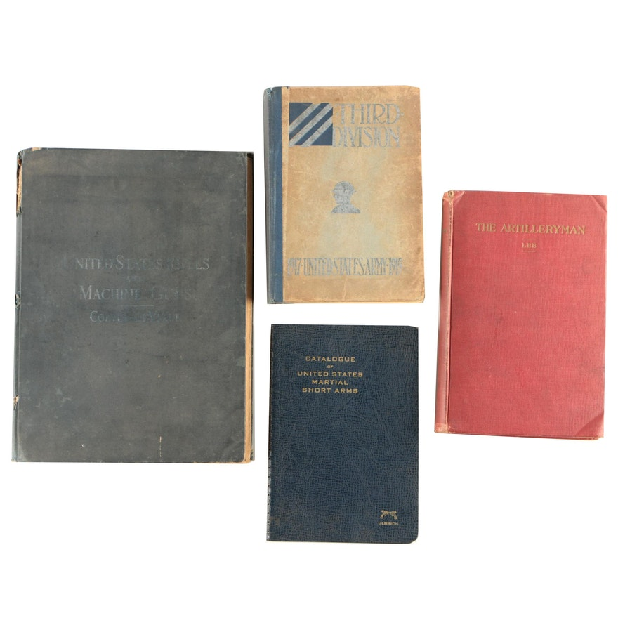 Books on American Firearms and Military Involvement in World War I
