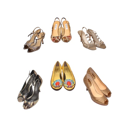 32f2cbc66d8 Isaac Mizrahi, Anne Klein, BCBG, Cole Haan and More Slingbacks, Pumps and