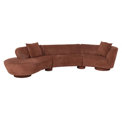 Modernist Sectional Sofa by Vladimir Kagan for Directional Furniture