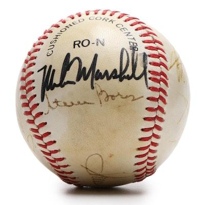 1988 Los Angeles Dodgers Signed Baseball, JSA Full COA