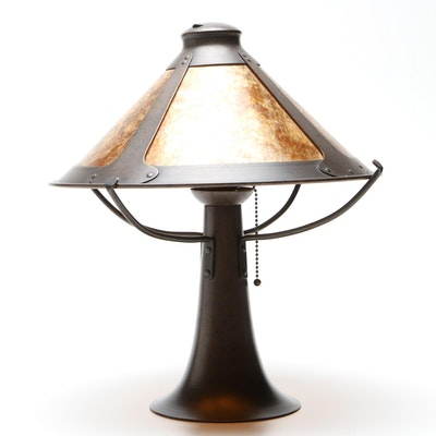 Rejuvenation Lamp & Fixture Company Craftsman Style Table Lamp