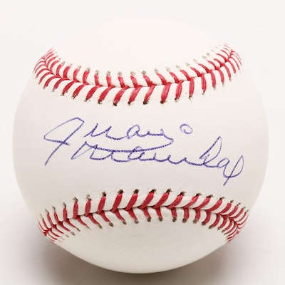 (HOF) Juan Marichal Signed Rawlings Major League Baseball
