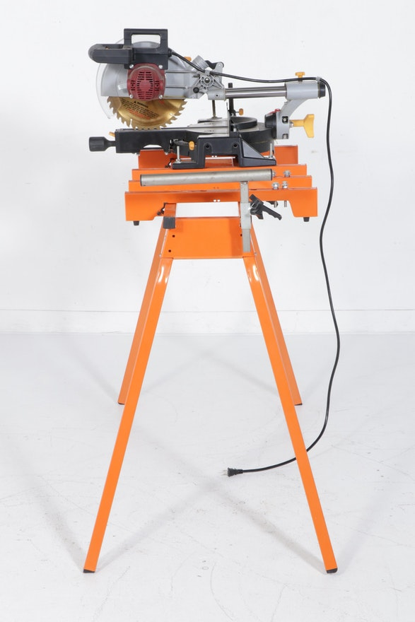 Chicago Electric 10-Inch Compound Miter Saw with Stand | EBTH