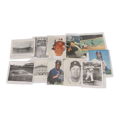 Autographed Baseball Pictures and Other Baseball Ephemera