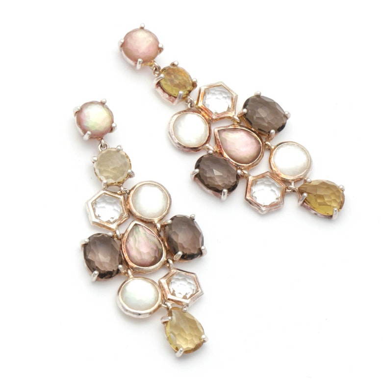 <b>Ippolita</b> 14K Yellow Gold Multi-Gemstone Earrings