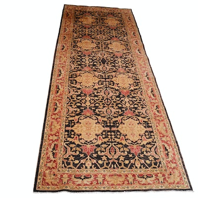 Hand-Knotted Gallery Size Peshwar Pakistani Wool Rug from The Rug Gallery