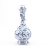 Chinese Porcelain Garlic Mouthed Vase, Qing/Republic