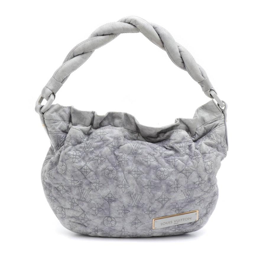 Louis Vuitton Monogram Stitched Lambskin Olympe Nimbus PM Shoulder Bag
