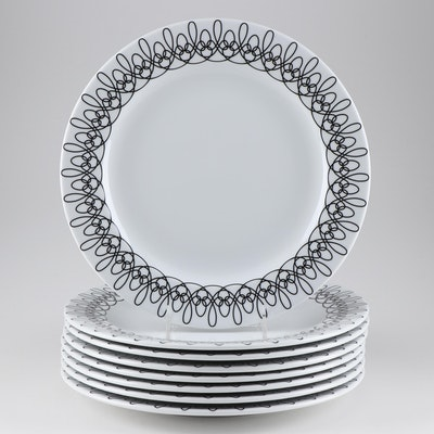 Not Neutral Contemporary Patterned Dinner Plates