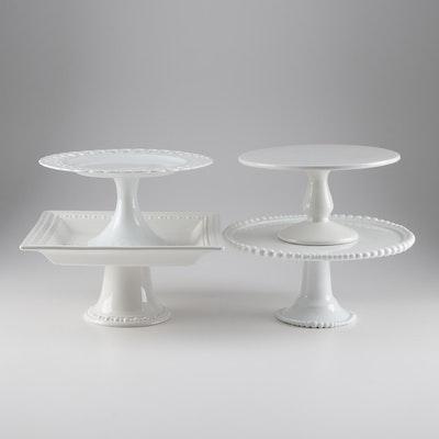 Contemporary Design Ceramic Cake Stands