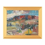 """Jose Trujillo Oil Painting """"Mountain Light"""""""