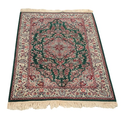 Hand-Knotted Sino-Persian Wool Rug
