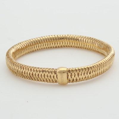 "Roberto Coin 18K Yellow Gold ""Primavera"" Stretch Bracelet"