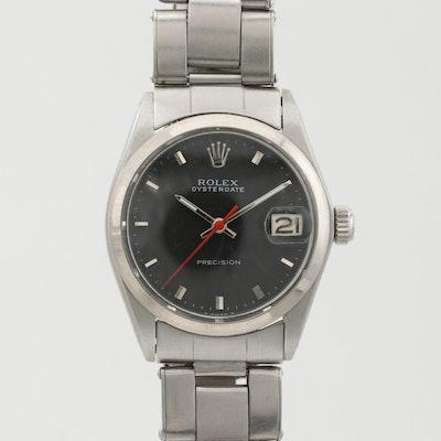 Rolex Oysterdate Stainless Steel Wristwatch, 1967