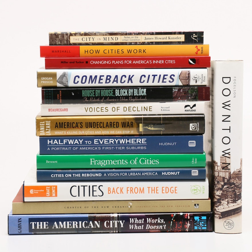 Urban Renewal Books with Signed and First Editions