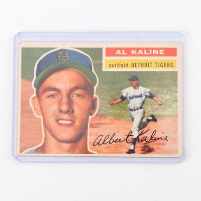 1954 Topps 201 Al Kaline Rookie Card Sgc Graded Ebth