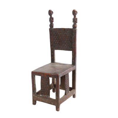 Wooden Throne from Southern Democratic Republic of the Congo