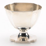Chinese Sterling Silver Candy Dish