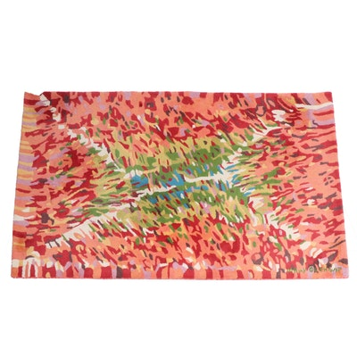 Mark Belknap for CB2 Hand-Tufted Abstract Area Rug