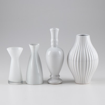 """Mid Century Modern Style Vases Featuring Rosanna """"American Bungalow"""" Collection"""