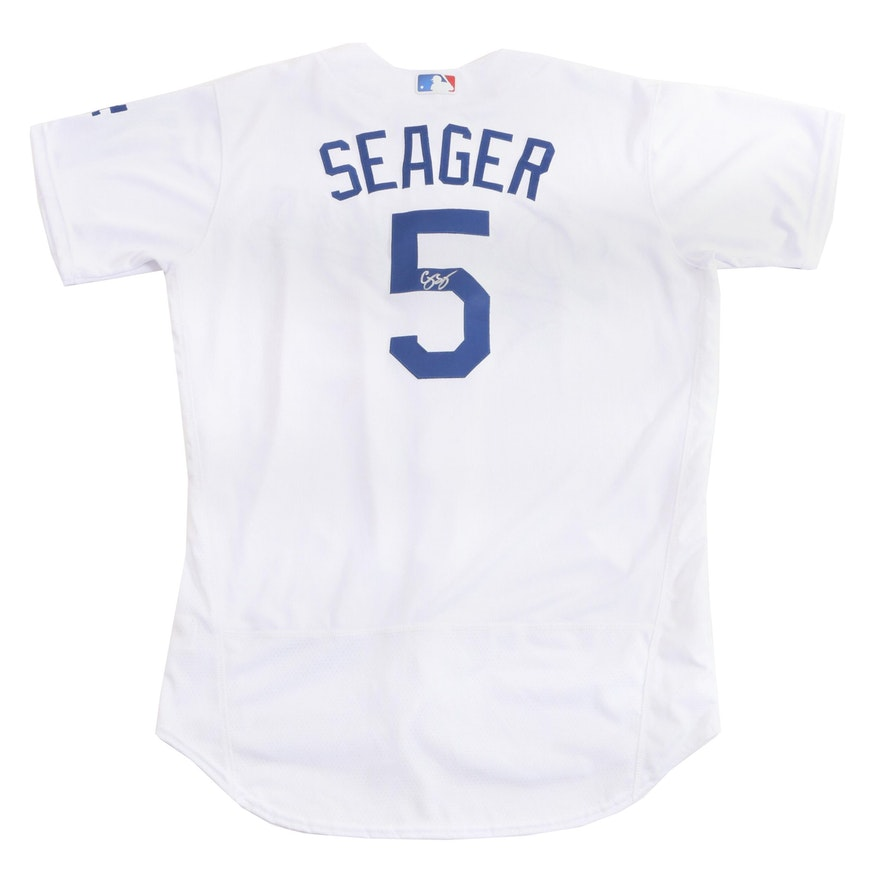 new product 983ac eedaa Cory Seager Los Angeles Dodgers Signed Baseball Jersey, MLB COA