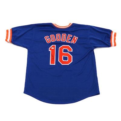 Dwight Gooden New York Mets Signed Baseball Jersey, JSA COA