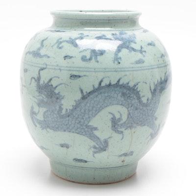 Chinese Stoneware Vase