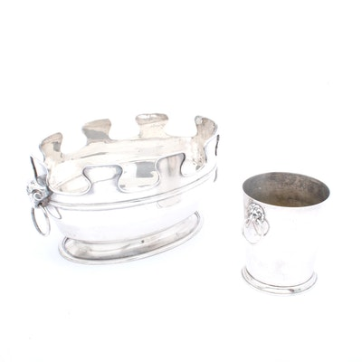 Silver Plate Champagne and Wine Chillers