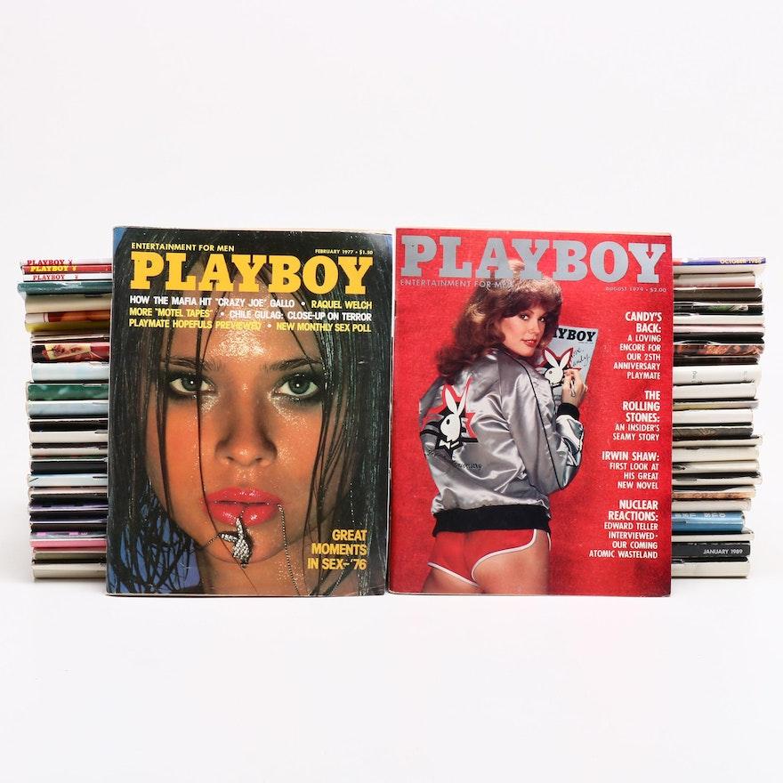"""Playboy"" Magazines, Late 20th Century"