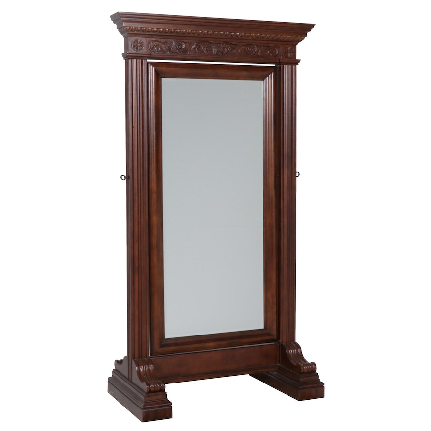 Federal Style Floor Standing Mirror by Bernhardt Furniture