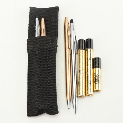 Cross Ballpoint Pens and Pencil Sets with Accessories